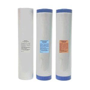 Комплект картриджей для фильтра высокопроизводительного «Водолей-БКП»